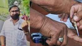 വോട്ട്  രഹസ്യം,  വോട്ടിങ് മെഷീന് മുന്നിൽ എത്തുമ്പോഴുള്ള വികാരം ആണ് വോട്ട് :മണിയപ്പിള്ള രാജു
