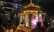വിനായ ചതുർത്ഥിയോടനുബന്ധിച്ച് തിരുവമ്പാടി മഹാഗണപതി ക്ഷേത്രത്തിൽ നിന്ന് ആരംഭിച്ച രഥയാത്ര