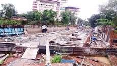 റെയിൽവേ പാത ഇരട്ടിപ്പിക്കൽ; ചിങ്ങവനം മുതൽ കോട്ടയം വരെയുള്ള റബ്ബർ ബോർഡ് മേൽപ്പാല നിർമാണം അവസാന ഘട്ടത്തിൽ