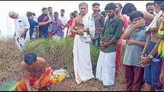 റാണിപുരം മലമുകളില് ഹരിഗോവിന്ദ വിളികളോടെ പെരുതടിയപ്പന് ഗിരിപൂജ, മല കയറാനെത്തിയത് നിരവധി വിശ്വാസികള്