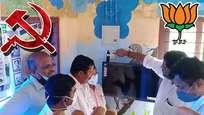സിപിഎമ്മിന്റെ വാര്ഡില് ബിജെപി ജയിച്ചു; അങ്കണവാടിക്ക് നല്കിയ ടിവി തിരിച്ചെടുത്ത് പാര്ട്ടി പകവീട്ടിയത് പാവം കുരുന്നുകളോട്; ഉടന് ടിവി നല്കി ബിജെപി
