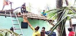 മോദി സര്ക്കാറിന്റെ ഒന്നാം വാര്ഷികത്തില് വീട് പുതുക്കി പണിത് ബിജെപി പ്രവര്ത്തകര്