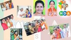 നിയമസഭ തെരഞ്ഞെടുപ്പ് 2021: പോരാട്ടവീര്യവുമായി എന്ഡിഎയുടെ നാരീശക്തി