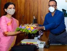 കൊല്ലം  ജില്ലയുടെ അമരത്ത്    ഇനി അഫ്സാന പര്വീണ്
