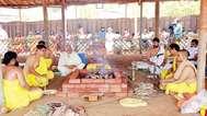 അഥര്വ്വവേദ ഭൈഷജ്യയജ്ഞം; അഹല്യയില് യാഗശാല ഉണര്ന്നു