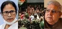 തൃണമൂല് മന്ത്രിമാരുടെ അറസ്റ്റ്:സിബി ഐ ഓഫീസിന് നേരെ കല്ലെറിഞ്ഞ തൃണമൂല് നടപടിയെ രൂക്ഷഭാഷയില് വിമര്ശിച്ച് ബംഗാള് ഗവര്ണര്