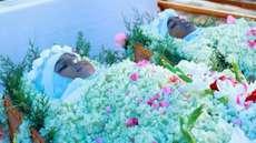 പിഞ്ചോമനകള്ക്ക് ഓമനപ്പുഴ ഗ്രാമത്തിന്റെ  യാത്രാമൊഴി, അന്തിമോപചാരം അര്പ്പിക്കാൻ നൂറുകണക്കിനാളുകള് ഒഴുകിയെത്തി