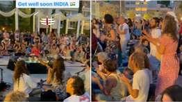 'ഓം നമഃ ശിവായ'; ഇന്ത്യയുടെ ക്ഷേമത്തിനായി മന്ത്രം ജപിച്ച് ഇസ്രയേലിലെ ജനങ്ങള്, സമൂഹമാധ്യമങ്ങളില് വൈറലായി വീഡിയോ