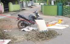 കണ്ടെയ്മെൻ്റ് സോണായ ഗാന്ധിനഗർ അരിവാൾ പാലം റോഡ് അടച്ചു കെട്ടിയപ്പോൾ