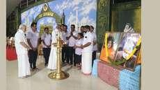 സായിഗ്രാമത്തിൽ 72-ാമത് റിപ്പബ്ലിക്ക് ദിനാഘോഷം; 12 മണിക്കൂർ തുടർച്ചയായി 1008 സൂര്യനമസ്കാരം