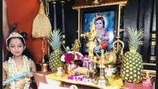 ബാലഗോകുലത്തിന്റെ ആഹ്വാനം ഏറ്റെടുത്ത് ചിക്കാഗോ ഗീതാമണ്ഡലം, അഷ്ടമിരോഹിണി നാളിൽ ഓരോ വീടും ഗോകുലമായി
