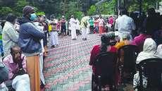 അനിയന്ത്രിത തിരക്ക്: കല്ലാര് പഞ്ചായത്ത് കമ്മ്യൂണിറ്റി ഹാളില് വിതരണം ചെയ്യുന്ന വാക്സിന് ഡോസ് കൂട്ടണമെന്ന് കാട്ടി ഡിഎംഒയ്ക്ക് കത്ത്
