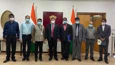 സിഐഎസ് കുവൈത്ത് ഭാരവാഹികൾ ഇന്ത്യൻ സ്ഥാനപതിയുമായി കൂടികാഴ്ച നടത്തി