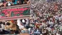 യുപിയില് കര്ഫ്യൂ ലംഘിച്ച് ഇസ്ലാമിക പുരോഹിതന്റെ സംസ്കാര ചടങ്ങില് മാസ്ക് പോലും ധരിക്കാതെ ആയിരങ്ങള്;  വന് സമൂഹവ്യാപനത്തിന് സാധ്യത, കേസ് (വീഡിയോ)