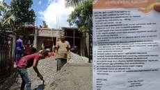 വീടു നിര്മ്മാണത്തിന് തടസവുമായി ഐഎന്ടിയുസി നേതാവ്, വീട്ടുടമയ്ക്കെതിരെ ഭീഷണിയും അസഭ്യവര്ഷവും, കൂലി തരണമെന്ന് കാട്ടി നോട്ടീസ് നൽകി