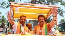 തീരദേശത്തെ ഇളക്കി മറിച്ച് കൃഷ്ണകുമാര്;  ആവേശമായി സുരേന്ദ്രന്