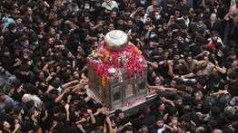 ആയിരക്കണക്കിന് ഷിയാ മുസ്ലിം ആരാധകര് കോവിഡ് പ്രൊട്ടോക്കോള് ലംഘിച്ച് മതഘോഷയാത്ര നടത്തിയതില് ആശങ്ക