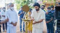 ദേവ് മോഹന്, ജിജു അശോകന് ഒന്നിക്കുന്ന 'പുള്ളി'; ചിത്രീകരണം ആരംഭിച്ചു
