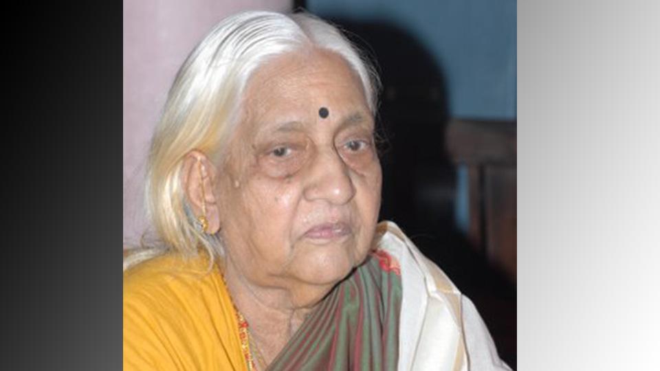കര്ണാടക സംഗീതജ്ഞ പാറശ്ശാല ബി. പൊന്നമ്മാള് അന്തരിച്ചു