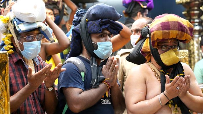 ശബരിമലയില് മാസപൂജക്ക് പ്രതിദിനം 15,000 പേര്ക്ക് പ്രവേശനം:  ഓണത്തിന് ആള്ക്കൂട്ട  പരിപാടികള് അനുവദിക്കില്ല