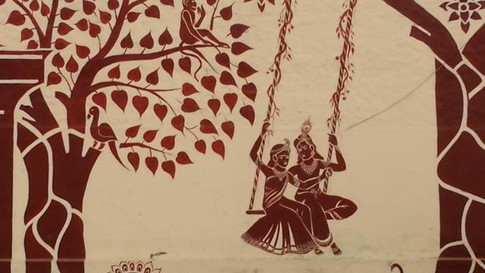 വൃന്ദാവനം-വത്സാസുരവധം